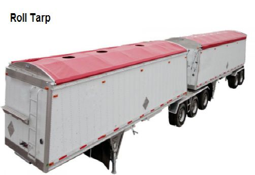 Truck cover red