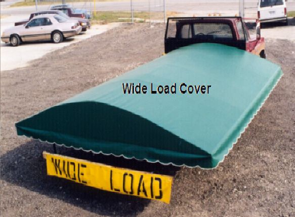 Wide load cover